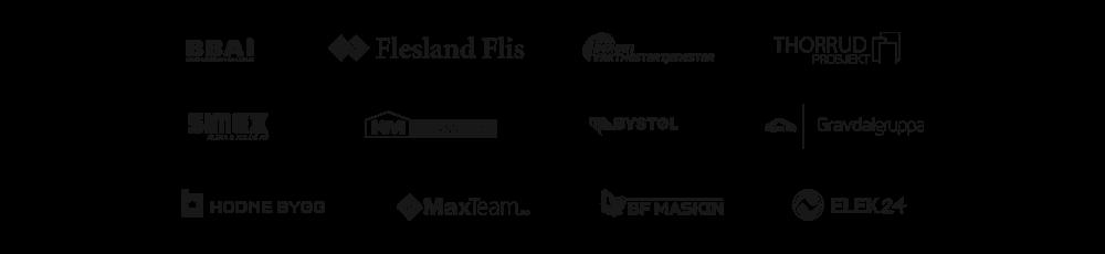 Flesland flis, bergen vaktmestertjenester, thorrud prosjekt